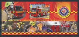 ISLE OF MAN  Mi.Nr. Block 87   Feuerwehr Und Rettungsdienst  - MNH - Isla De Man