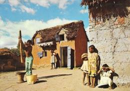 Madagascar - Hauts Plateaux - Pileur De Riz - Madagascar