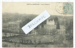 CPA - Semur En Brionnais - Vue De St Martin