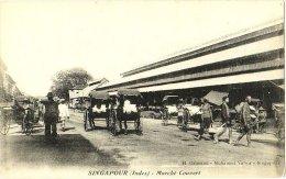 Singapour (Indes) - Marché Couvert - & Rickshaw - Singapore