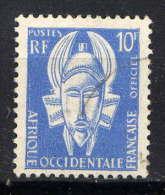 A.O.F. - N° T4° - MASQUE - A.O.F. (1934-1959)