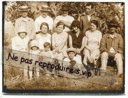 -  Belle Photo, 1929, Réunion De Famille Dans Un Petit Village Du Jura, Familles, Garniret, Boyer, Tbe, Scans. - Persone Identificate