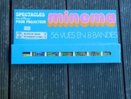 Minema - Coffret 56 Vues En 8 Bandes, N° 129 à 136 - Spectacles Walt Disney - Blanche Neige I - 1973 - Film Projectors