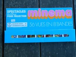 Minema - Coffret 56 Vues En 8 Bandes, N° 137 à 143bis - Spectacles Walt Disney - Blanche Neige II - 1973 - Projecteurs De Films
