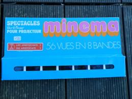 Minema - Coffret 56 Vues En 8 Bandes, N° 170 à 177 - Spectacles Walt Disney - Les Aristochats I - 1973 - Film Projectors