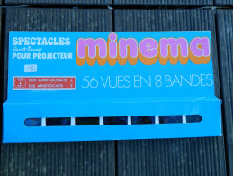 Minema - Coffret 56 Vues En 8 Bandes, N° 170 à 177 - Spectacles Walt Disney - Les Aristochats I - 1973 - Projecteurs De Films