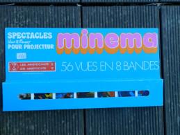 Minema - Coffret 56 Vues En 8 Bandes, N° 178 à 185 - Spectacles Walt Disney - Les Aristochats II - 1973 - Projecteurs De Films