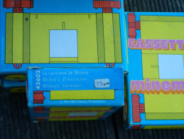 Minema - Meccano Cassette N° 42602 - La Caravane De Mickey - Walt Disney - 1973 - Projecteurs De Films