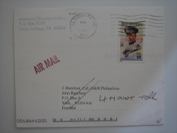 United States US 2000 Commercial Cover Altoona PA To UK 55c Stamp - United States