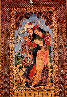 Carpet, Isfahan, Iran Postcard 1984 - Iran