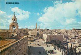 General View Of Of Bethlehem, Israel Postcard Used Posted To UK 1981 Stamp - Israele
