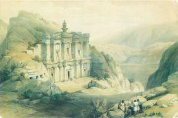Petra David Roberts 1839, Jordan Postcard - Jordan