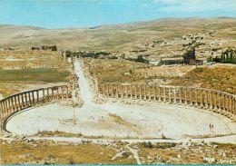 Forum, Jerash, Jordan Postcard - Jordan