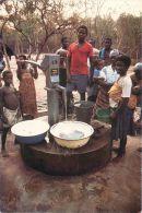 Hand Dug Well And Children, Ghana Postcard Used Posted To UK 1994 GB Meter Ema - Ghana - Gold Coast