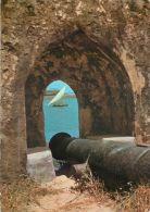 Coastal Scene From Fort Jesus, Mombasa, Kenya Postcard Used Posted To UK 1986 Stamp - Kenya