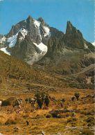 Mt Kenya, Kenya Postcard Used Posted To UK 1972 Stamp 70c Shell - Kenya