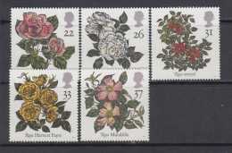 1991   YVERT  Nº 1551 / 1555   / ** / - 1952-.... (Elizabeth II)