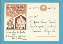 1957 - Defesa Civil - INTEIRO POSTAL STATIONERY - PORTUGAL - 2 Scans - Entiers Postaux