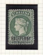 ST HELENA -  Queen Victoria - Grossbritannien (alte Kolonien Und Herrschaften)