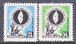 URUGUAY  C 179-80   *  HUMAN  RIGHTS - Uruguay