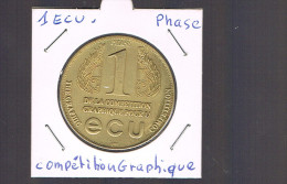 1 ECU De La Compétition Graphique . PARIS . Peu D'exemplaires . - Euros Of The Cities