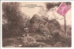 Environs De Guéret-Peyrabout - Les Rochers - N°152 - Dolmen & Menhirs