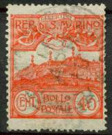 #14-02-01342 - San Marino - 1903 - Sass. 40 - US - QUALITY:60% - Gebraucht
