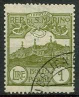 #14-02-01345 - San Marino - 1903 - Sass. 43 - US - QUALITY:60% - Gebraucht