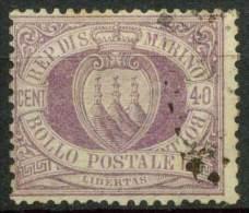 #14-02-01360 - San Marino - 1877 - Sass. 7 - US - QUALITY:100% - San Marino