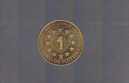 1 EURO De POITIERS . 20 000 Exemplaires . - Euros Of The Cities