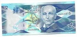 Barbados - 2 Dollars, - Barbados