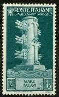 #14-02-02229 - Italy - 1937 - Sass. 416 - MNH - QUALITY:100% - 1900-44 Vittorio Emanuele III