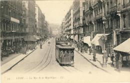 LYON -- LA  RUE  DE  LA  REPUBLIQUE - Lyon