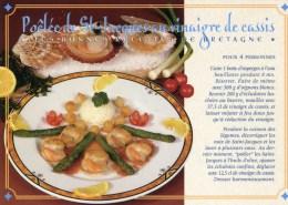 CP-recette -Poêlée De Saint-Jacques Au Vinaigre De Cassis - Recipes (cooking)
