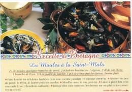 CP-recette -les Moules à La Saint-Malo - Recipes (cooking)