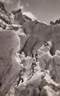 CLIMBING POSTCARD - GLACIERS.  'INNAPROPIATELY DRESSED!!' - Climbing