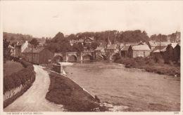 BRECON - THE BRIDGE AND CASTLE - Breconshire