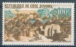 Côte D´Ivoire 1968 - Village Sénoufo Y&T - PA N°39 ** Neuf Luxe 1er Choix (gomme D´origine Intacte) TB. - Ivory Coast (1960-...)