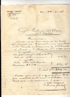 Courrier Sur Papier à En-tête , CHIORA FRERES , 1931 , NICE , Frais Fr : 1.80€ - Invoices & Commercial Documents