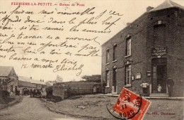 Ferrière La Petite ...le Bureau De Poste Et Télégraphe PTT Métiers TOP CARTE ULTRA RARISSIME - Autres Communes