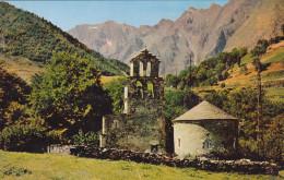 """Haute Pyrenées 65 Vallée D´Aure   """" Eglise Des Templier Le Massif Du Campbielh Et Pic Méchant   """" - France"""