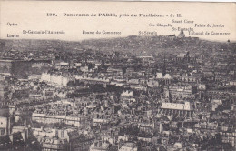 Cp , 75 , PARIS , Panorama , Pris Du Panthéon - Panoramic Views