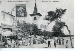 Cros De Cagnes : Bureau De Tabac N°7  - Cote D´azur A La Belle époque N°16 Repro - Autres Communes