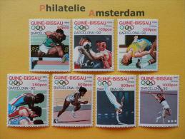 Guinea-Bissau 1989, OLYMPICS OLYMPIADE OLYMPIQUES / BARCELONA: Mi 1041-47, ** - Zomer 1992: Barcelona