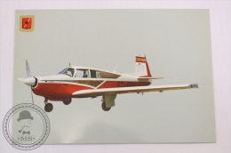 Sport Aircraft/ Airplane Postcard - Mooney Mark 21 Super, 200 H.P. - Real Aero Club Barcelona Sabadell - 1946-....: Moderne