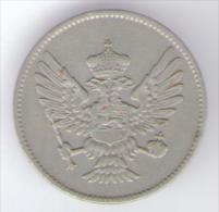 MONTENEGRO 20 PARA 1908 NICHOLAS I - Monete