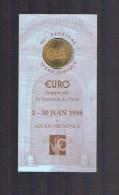 1 EURO De AIX - EN - PROVENCE . 10 000 Avec Plaquette . - Euros Of The Cities
