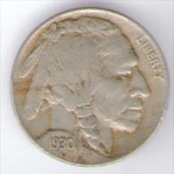 U.S.A. - STATI UNITI D' AMERICA - FIVE CENTS ( 1930 ) BUFFALO - Emissioni Federali
