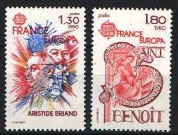 France 1980. EUROPA CEPT Set MNH (**) - 1980