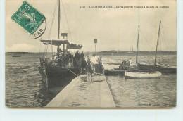 LOCMARIAQUER  - Le Vapeur De Vannes à La Cale Du Guilvin. - Locmariaquer